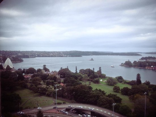 InterContinental Sydney: From our 26th Fl. room
