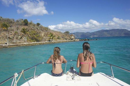 Copeland Boat Charters : Overlooking Jost Van Dyke