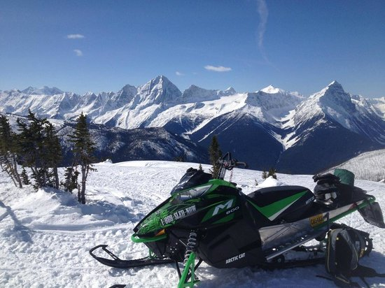 Golden Snowmobile Rentals & Tours