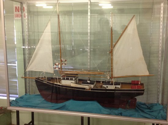 Gateway Torres Strait Resort: Replica of Pearling Lugger with more inside Museum