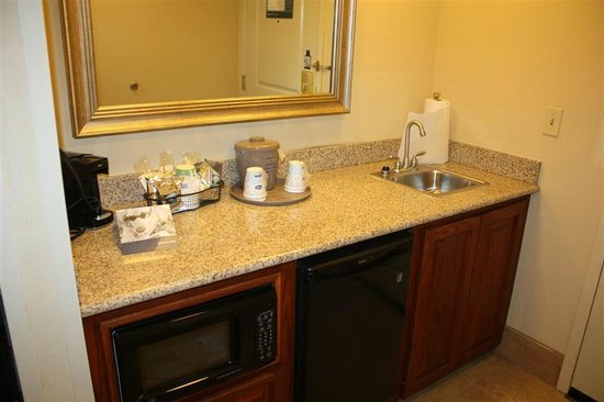 Hampton Inn & Suites Baton Rouge - I-10 East: Wet bar