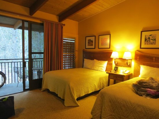 Yosemite Valley Lodge: The Bedroom