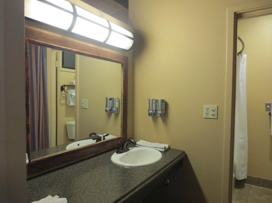 Yosemite Valley Lodge: bathroom