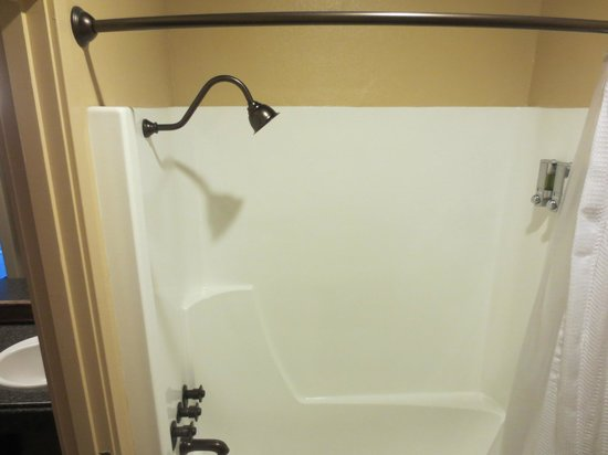 Yosemite Valley Lodge: newer shower