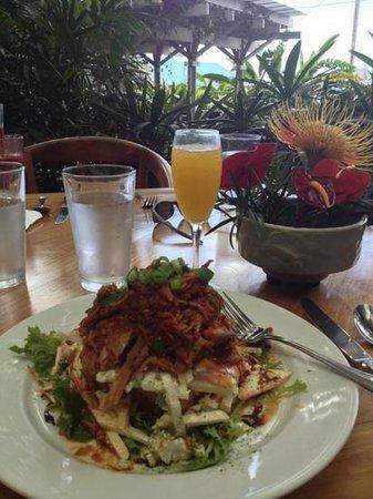 Holuakoa Cafe & Gardens: slow roasted pulled pork