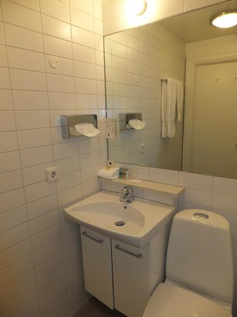 Hotel Odinsve Apartments: Bathroom was nice and clean.
