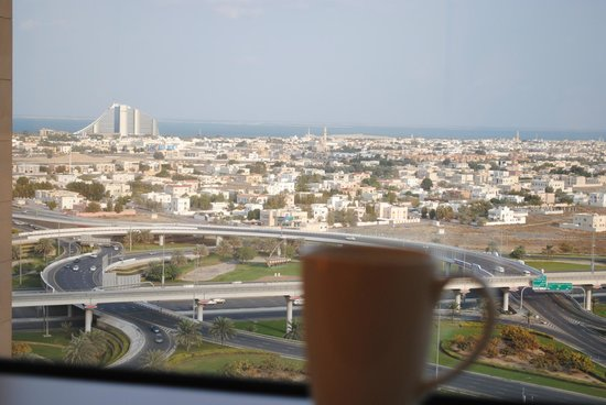 Sheraton Dubai Mall of the Emirates Hotel: View every morning wt my cuppa :-)