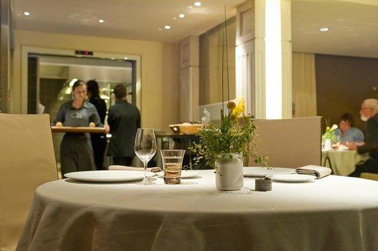 Logis Chez Camillou : Salle resto gastronomique