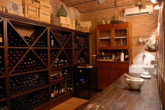 La Piana: wine cellar
