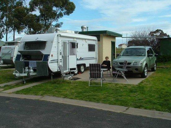 Nhill, Australia: En suite site
