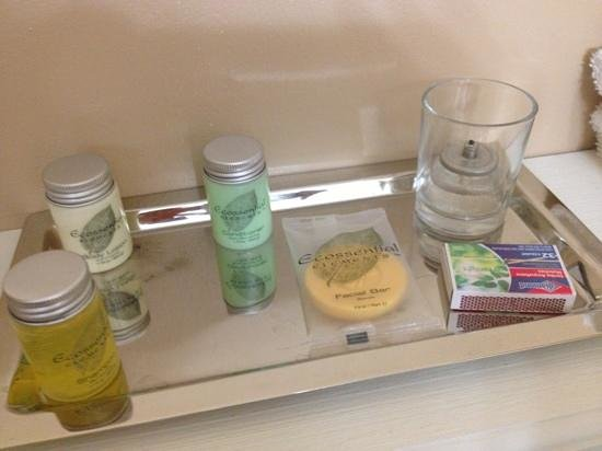 Dahlonega Spa Resort: bath amenities