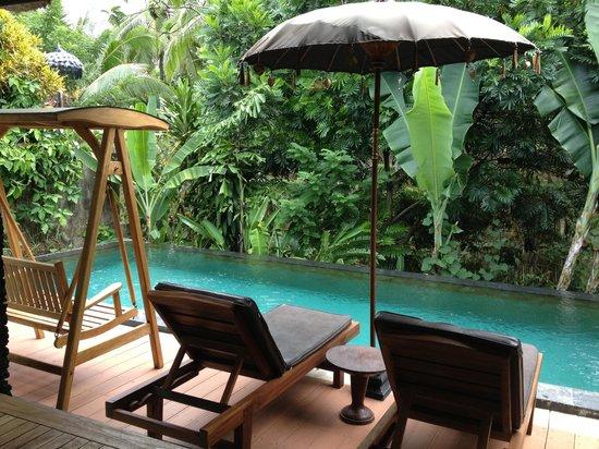 KajaNe Mua Private Villa & Mansion: Private pool in Beji Geti suite