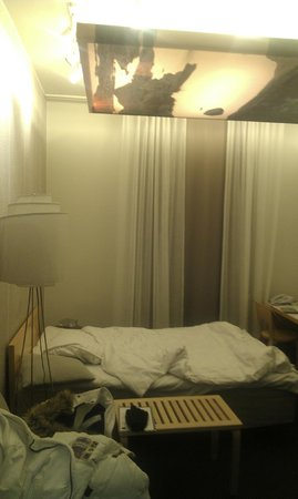 Hotel Helka: on evening, Room had nice views but curtains closed on this photo :)