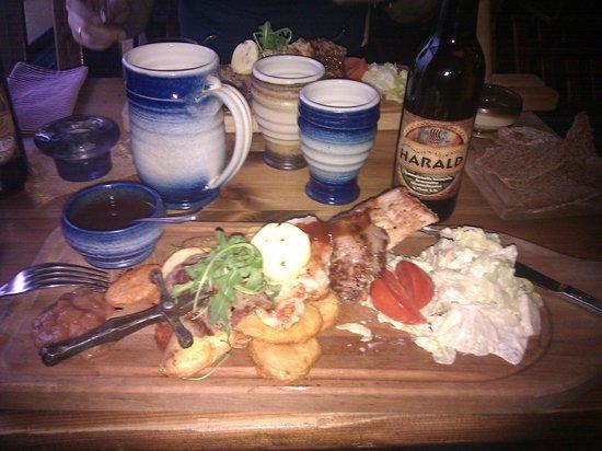 Viikinkiravintola Harald: pork&beef