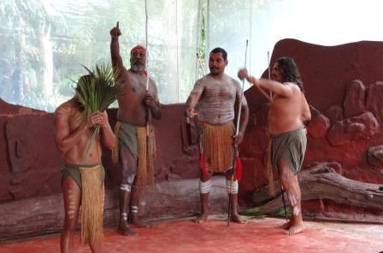 Parque Natural Rainforestation: Pamagirri Aboriginal Dance Show