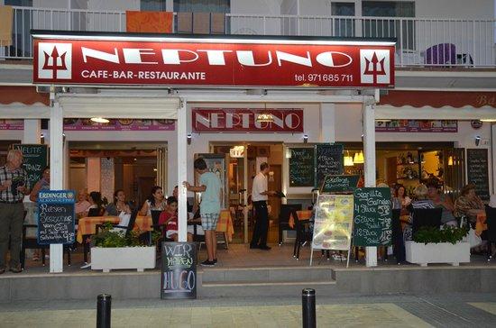 Hostal Neptuno: restaurante