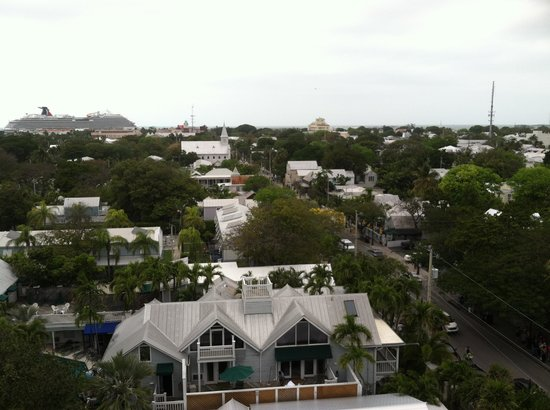 Key West Lighthouse and Keeper's Quarters Museum: view of Key West
