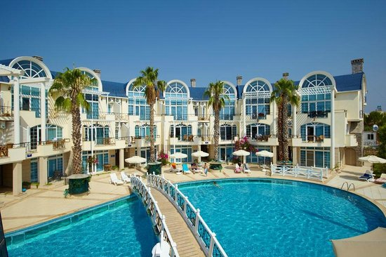 Seahorse Deluxe Hotel: HOTEL VİEW