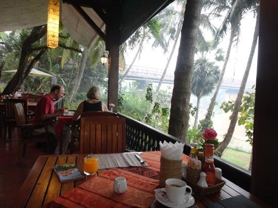 Le Bel Air Boutique Resort: A view from the restaurant at Le Bel Air - overlooking the river.