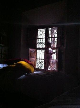 Riad Samsara: petit matin au riad