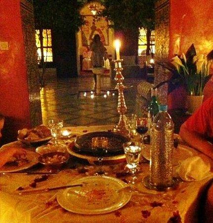Riad Samsara: première soirée : tagine de kefta