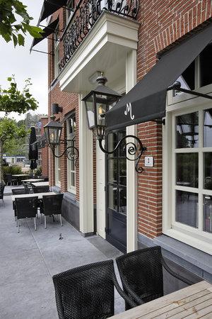 Hotel Mijdrecht Marickenland : Restaurant entrance