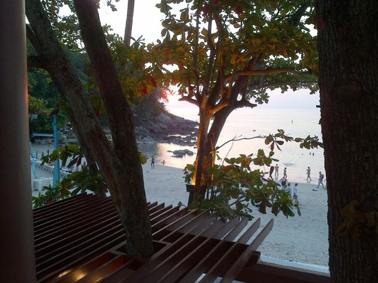 The Boathouse Phuket: Sunset view from the room