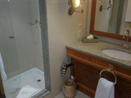 โรงแรมคอนติเนนตัล ซูริค: Walk in shower 626
