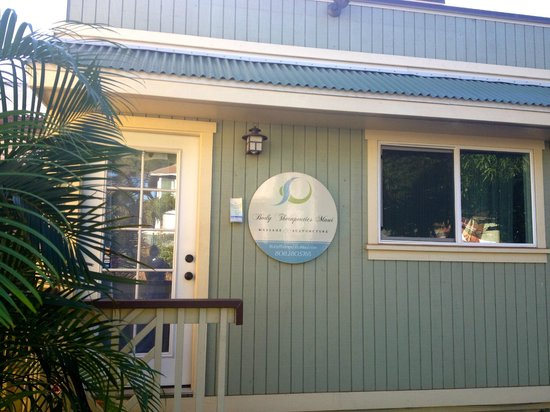 Paia, Hawái: Our Massage Office