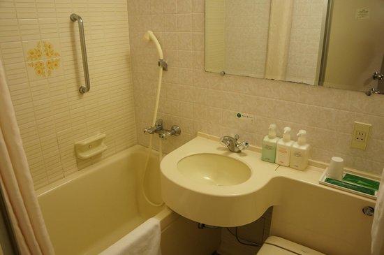 Hotel Route Inn Matsue: Bathroom