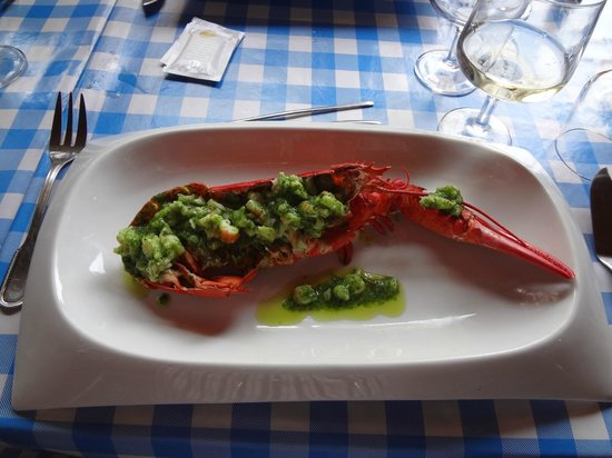 Le Cabanon Marin: Lobster
