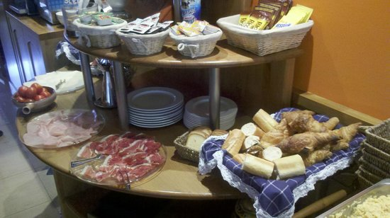 Petit Hotel: a part of the breakfast buffet