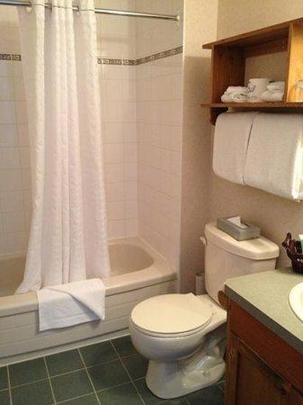 بيراميد ليك ريزورت: bathroom