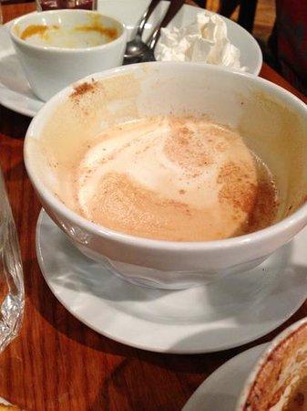 chai latte bowl