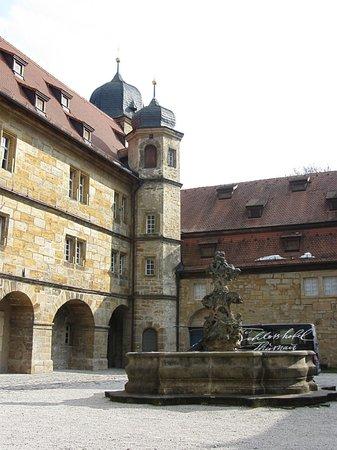 Schloss Thurnau: Schlosshof