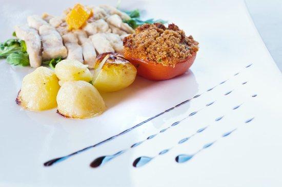 Aquattro Restaurant : Tagliata di polo agli agrumi