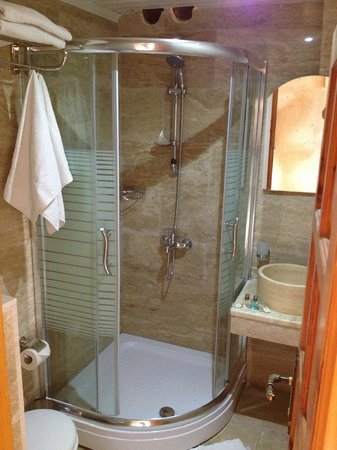 Walnut House: standard bathroom