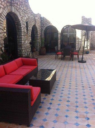 Villa Amaryllis : Salon psicine