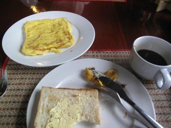 Villa Chitdara: 朝食のセンスが良い