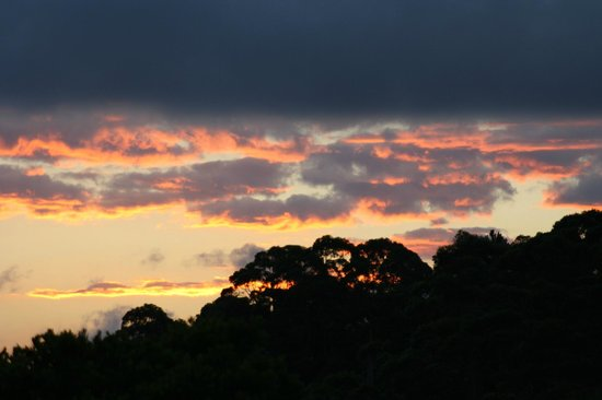 Blue Summit Cottages : Sunset