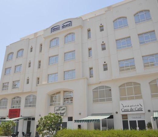 Midan Hotel Suites, Muscat : Midan Hotel Suites - External