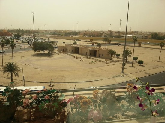 Four Points by Sheraton Kuwait: View from the Restaurant of historical Bab Al Kuwait(Kuwait Gate).