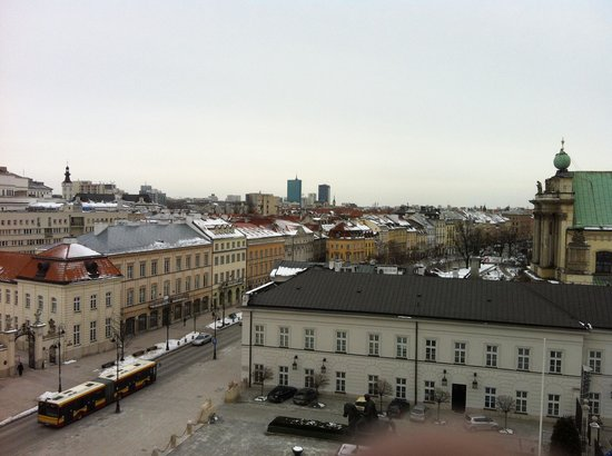 Hotel Bristol, a Luxury Collection Hotel, Warsaw : View from our Room