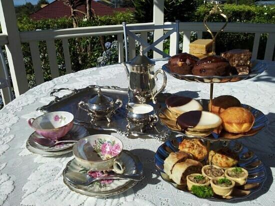 The Old Hospital Cafe: high tea