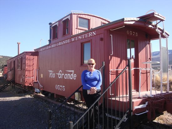 Ridgway Railroad Museum: The Caboose is Loose !