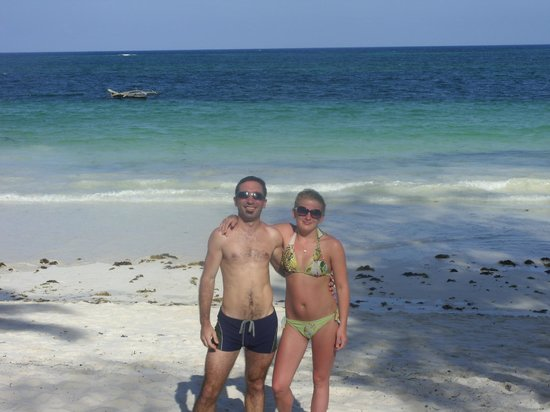 Diani Sea Lodge: spiaggia