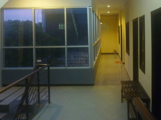 CT 1 @ Tuban Hotel: view of 3rd floor corridor