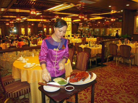 Windsor Plaza Hotel: restaurante