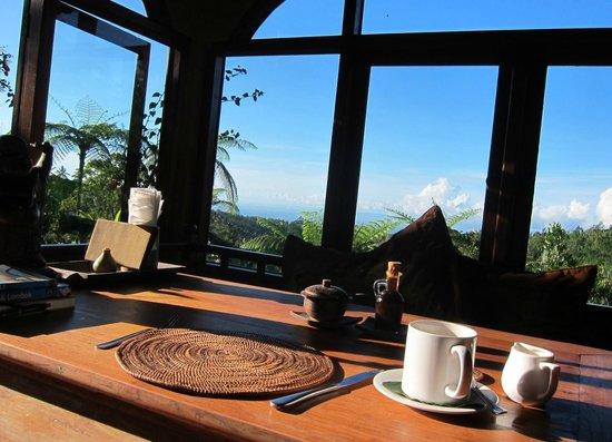 Sarinbuana Eco Lodge: Breakfast view