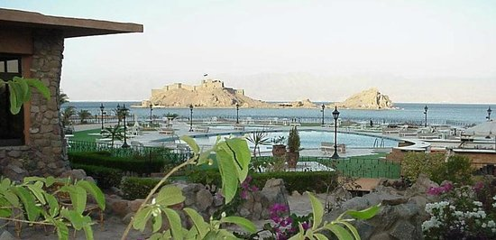 Helnan Taba Hotel : View from The Lobby